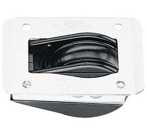H046 Harken Dinghy Block 44mm Thru-Deck