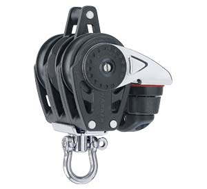 H2613 Harken Carbo Ratchet Block 40mm Triple/Swivel/Carbo-cam/Be